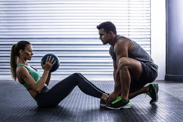 A coach can get you back to the gym working out