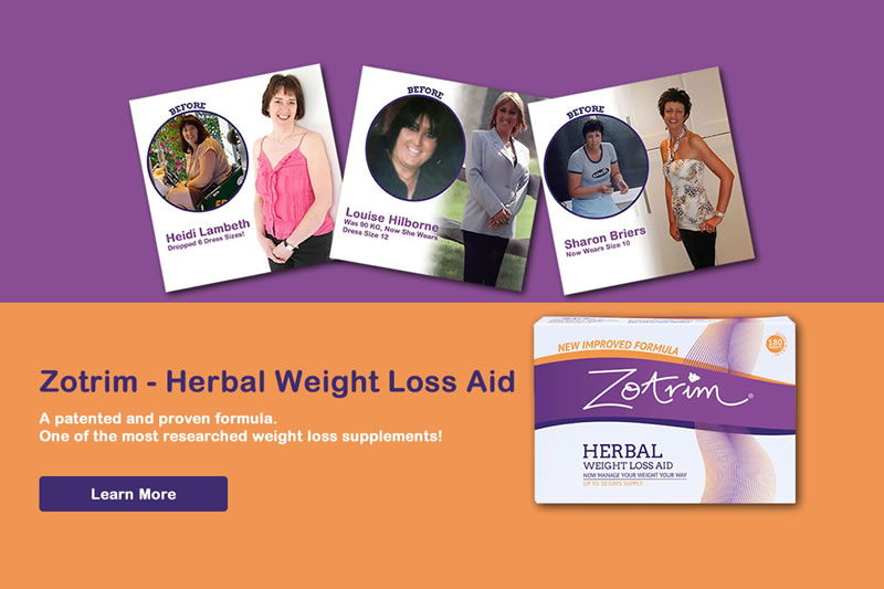 Zotrim to control hunger and suppress your appetite!